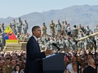 President Obama, pictured in August addressing U.S. service members at Fort Bliss, Texas, has signaled that he is inclined to avoid situations that are most likely to lead to major troop deployments.