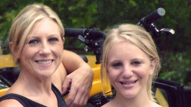 Carolyn Tuft and her daughter Kirsten (seen here in 2005) were the victims of a shooting at a Salt Lake City mall in 2007. Kirsten was one of five bystanders killed, and Carolyn was left in severe pain. (Courtesy of Carolyn Tuft)