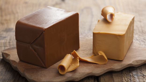 A truckload of brunost cheese, like the kind seen here, recently caught fire in a Norwegian tunnel. (iStockphoto.com)