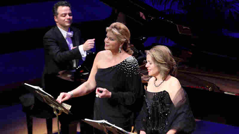 Reneé Fleming And Susan Graham At Carnegie Hall