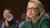 Secretary of State Hillary Clinton testifies Wednesday before the Senate Foreign Relations Committee on the attack on the U.S. mission in Benghazi, Libya.