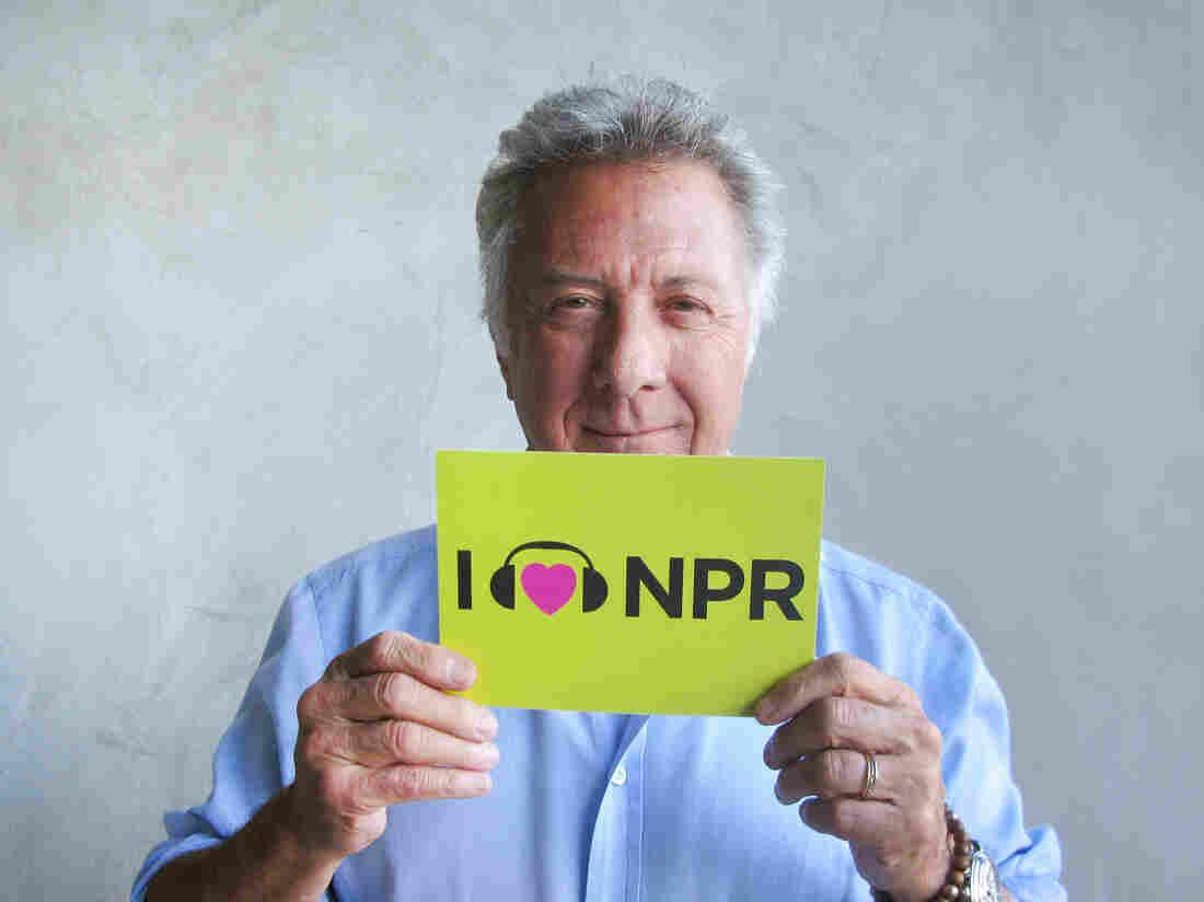 Dustin Hoffman at NPR West.