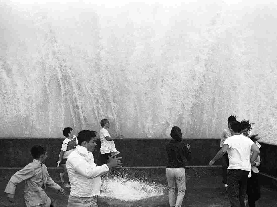Hurricane Betsy hit the Gulf Coast in 1965.