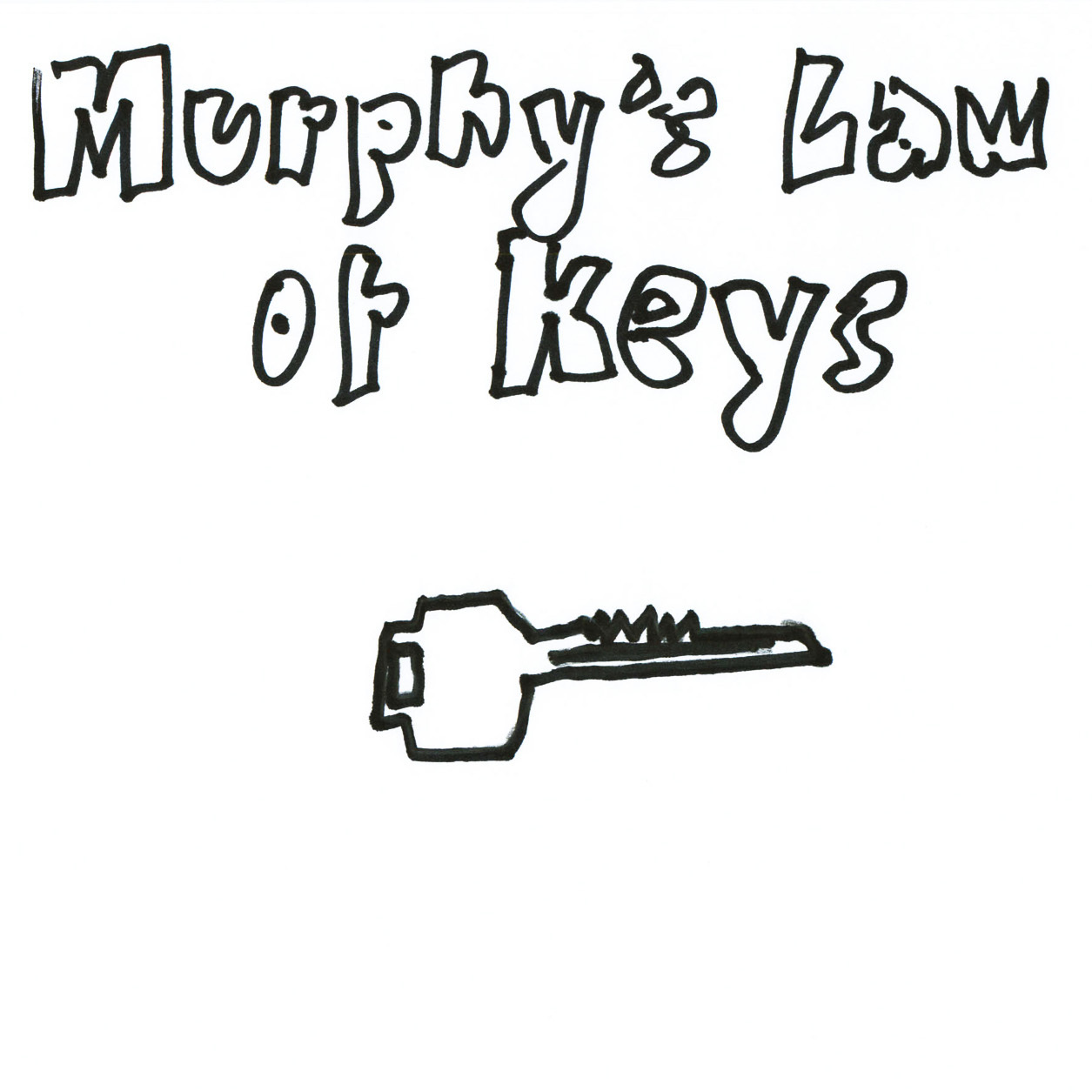 Murphy's Law Of Keys