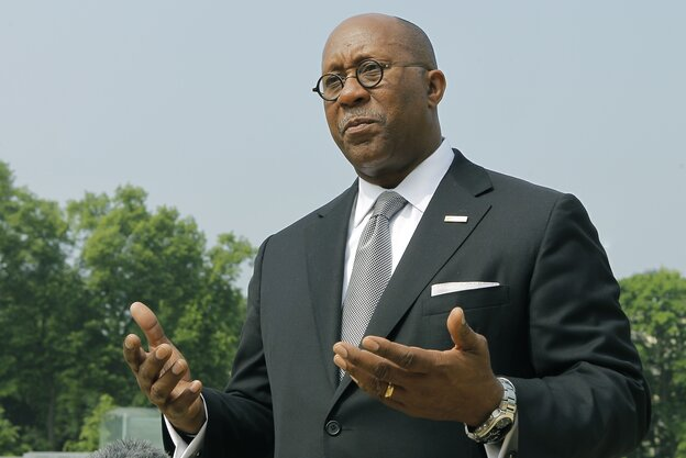 U.S. Trade Representative Ron Kirk will step down in February.