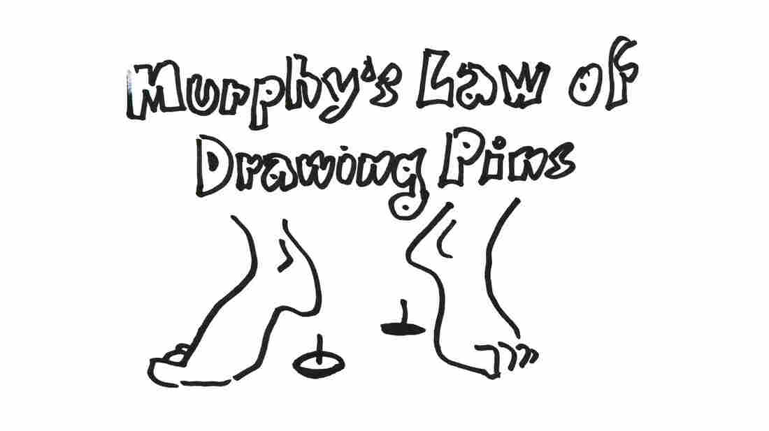 Murphy's Law Of Drawing Pins