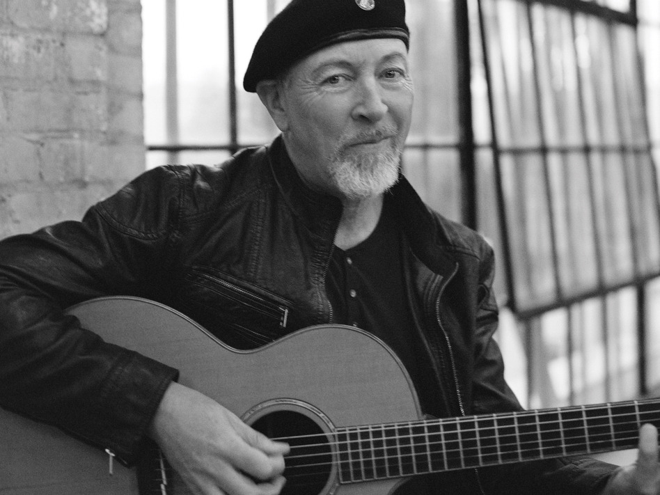 Richard Thompson's new album is titled <em>Electric</em>.