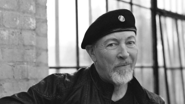 Richard Thompson's new album is titled Electric. (Courtesy of the artist)