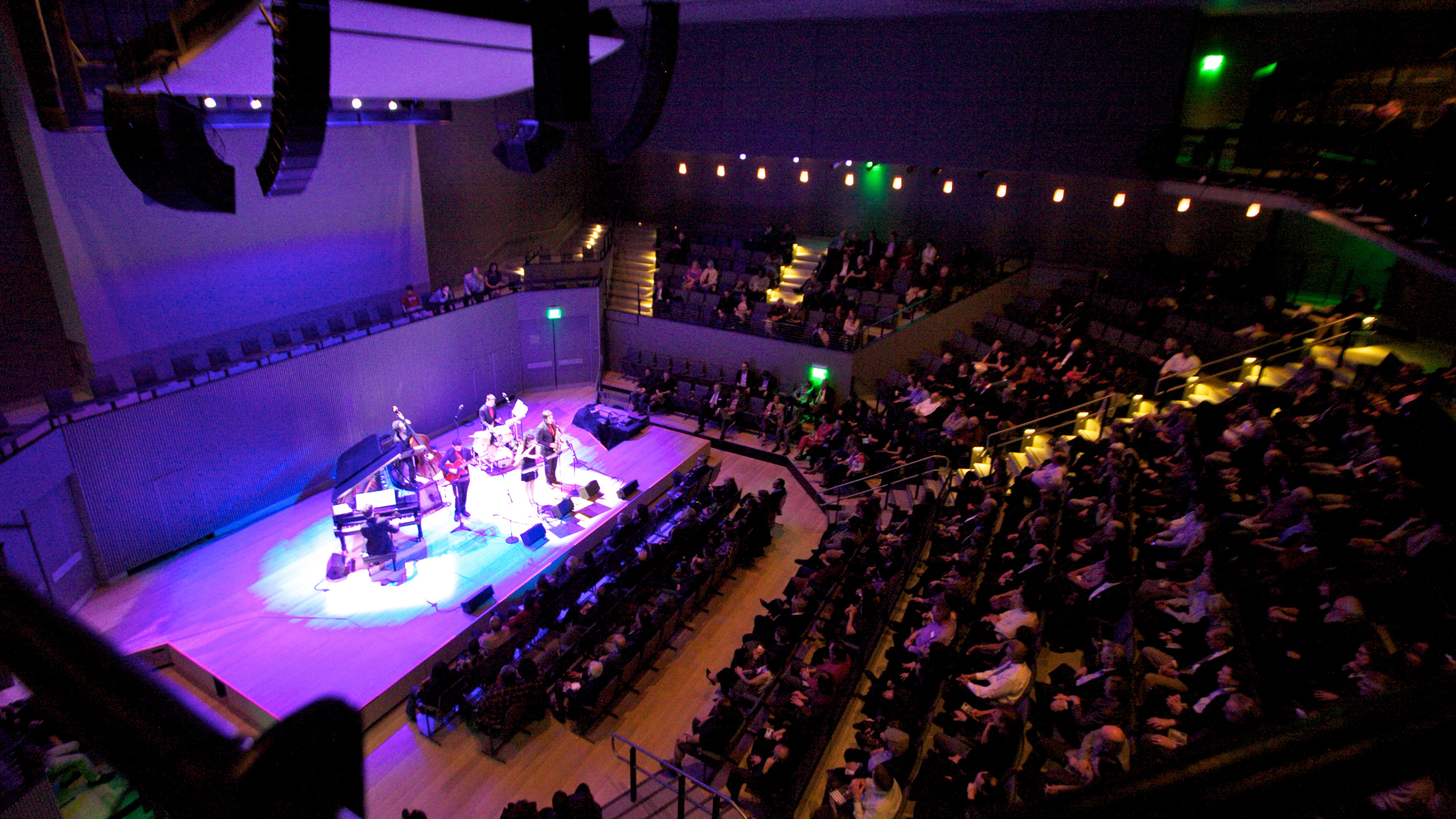 The SFJAZZ Center on opening day.