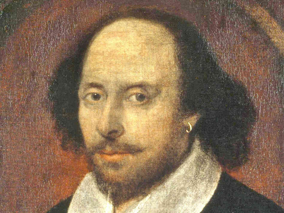 William Shakespeare, depicted in this 17th century painting, penned his sonnets on parchment. Now his words have found a new home ... in twisting strands of DNA.