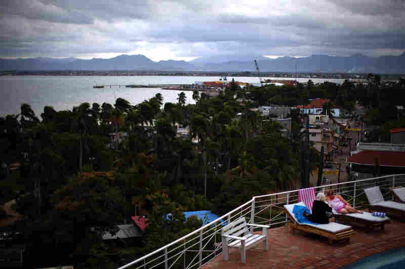 Mont Joli Hotel looks out over Cap-Haitian in northern Haiti. The owner says he's usually fully booked and plans to double the hotel's capacity. Haiti is trying to expand its tourism infrastructure and tap in to the multibillion-dollar Caribbean travel market.