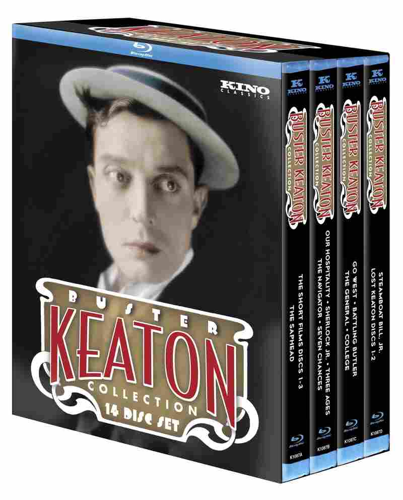 The 14-disc Ultimate Keaton collection is a treasure trove of silent-comedy genius, says NPR's Bob Mondello.