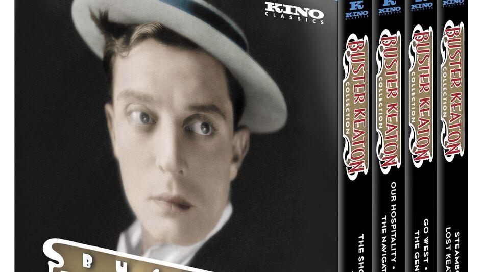 The 14-disc Ultimate Keaton collection is a treasure trove of silent-comedy genius, says NPR's Bob Mondello. (Kino Lorber)