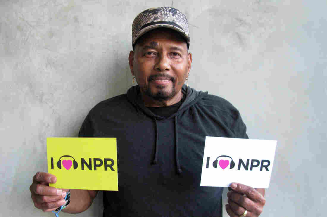 Aaron Neville at NPR West.
