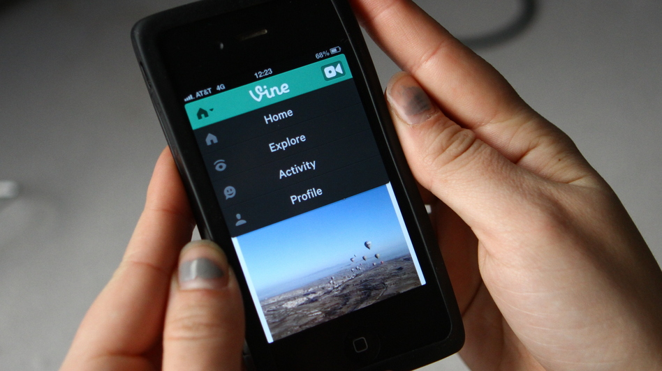 Twitter announced its partnership with Vine, a video-sharing app that posts six-second videos onto a tweet, on Thursday, Jan. 24. (NPR)