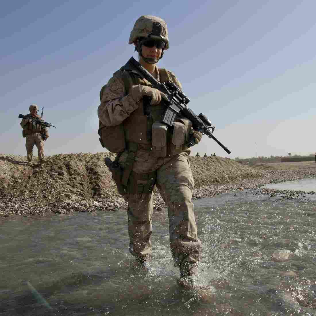 Combat? Reaction Of Many Women In Military Is 'Been There, Done That'