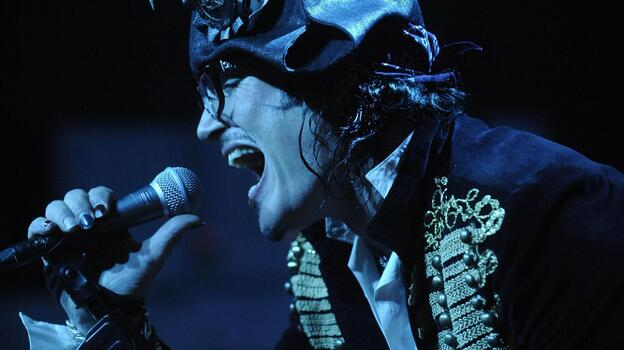 Adam Ant's first album in 17 years, Adam Ant is the Blueblack Hussar in Marrying the Gunner's Daughter, is an ersatz musical memoir. (Courtesy of the artist)