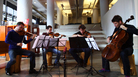 Watch one of today's top string quartets delve deep at a Brooklyn bookstore.