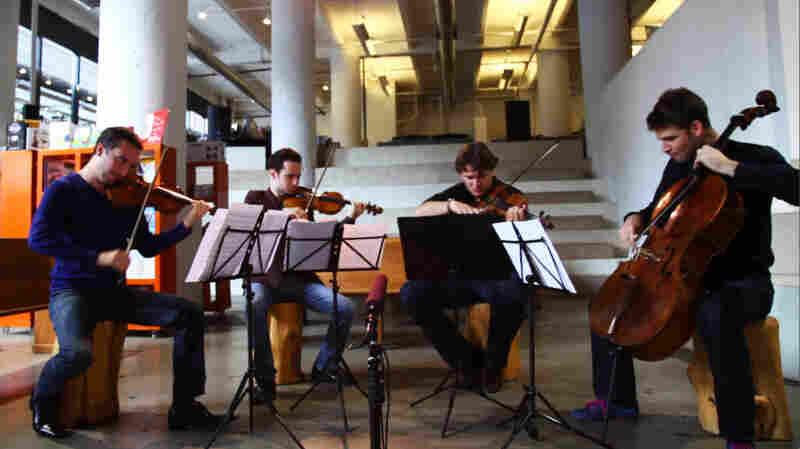 The Ebene Quartet Powers Through Mendelssohn