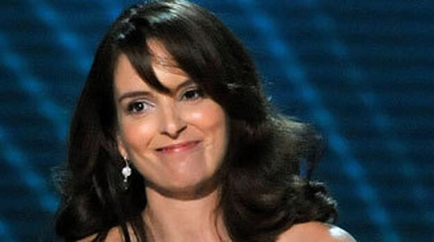 Tina Fey won an Emmy Award for outstanding lead actress in a comedy series for her role as Liz Lemon on 30 Rock. ( )