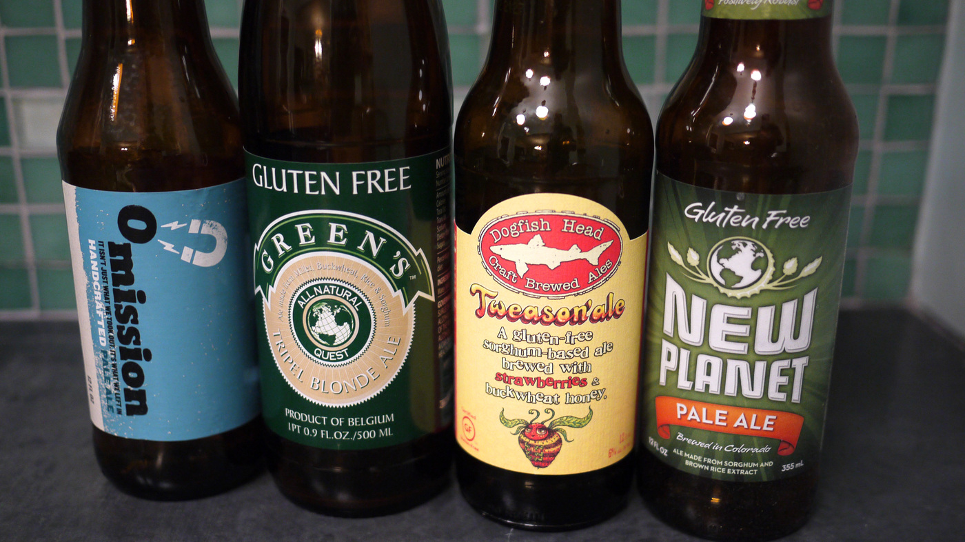 a quest for real beer, without the gluten : the salt : npr