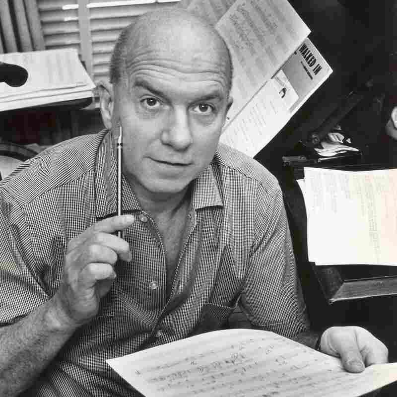 Van Heusen at work in the 1960s.
