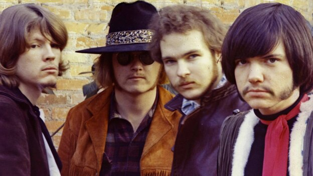 Before ZZ Top, Billy Gibbons (second from right) was in the more psychedelic Moving Sidewalks. (Rancho Deluxe Productions)
