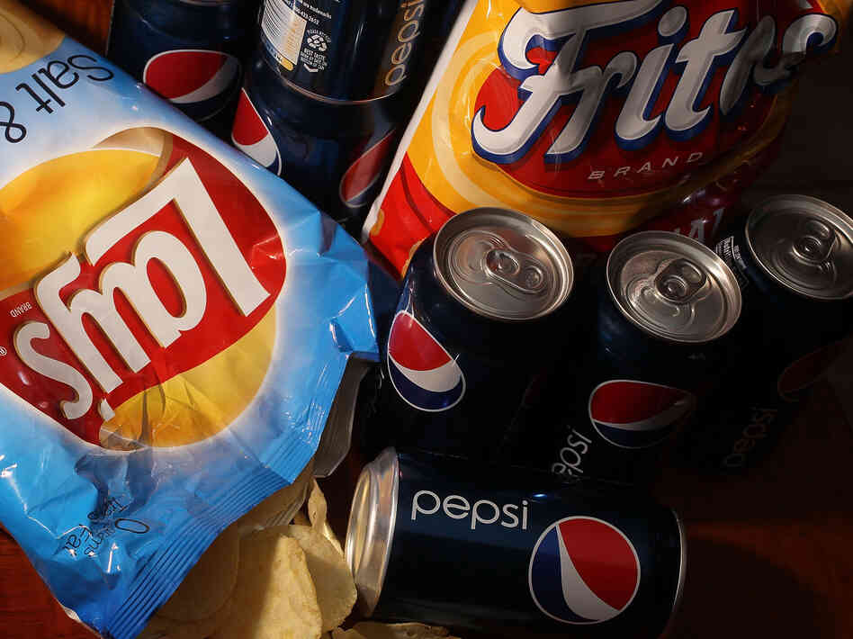 PepsiCo's product line ranges from salty chips and its sugary namesake drink to more healthful fare like hummus and yogurt. In 2010, the company announced plans to cut sugar, fat and sodium in its products to address health and nutrition concerns.