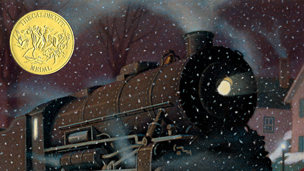 The Polar Express won the Caldecott Medal in 1986, and was turned into an animated movie with Tom Hanks in 2004. (Houghton Mifflin Harcourt)