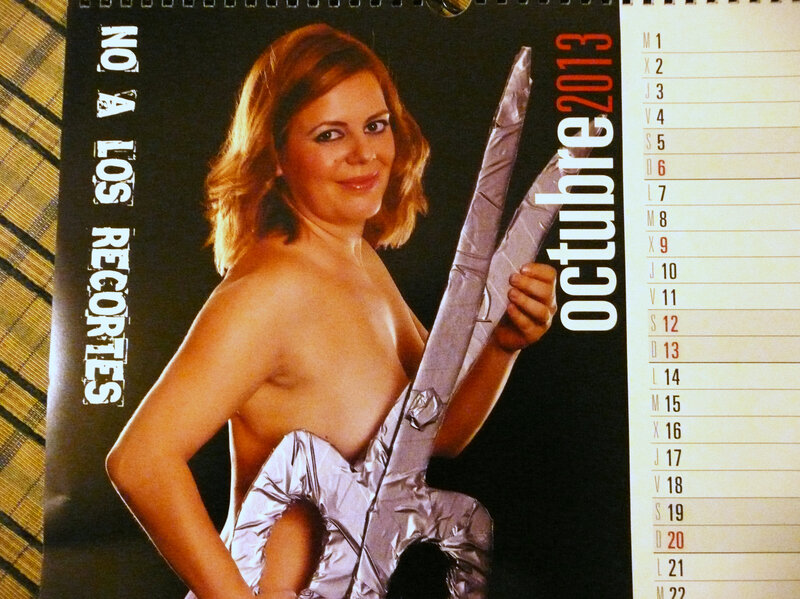 Spanish Moms Raise School Funds With Pinup Calendar