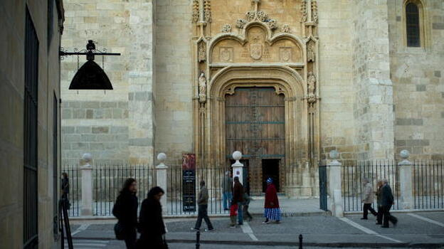 The Cathedral of Alcala de Henares is one of many buildings owned by the Catholic Church in Alcala de Henares, Spain. The town, which is outside Madrid, is broke and is pursuing a plan to have the church pay additional taxes. (JMN/Getty Images)