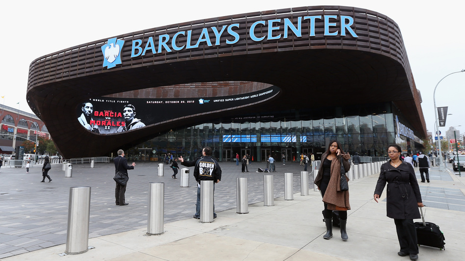 The Barclays Center in New York, the new home of the Brooklyn Nets, was built partially with investment from overseas donors seeking U.S. citizenship. A little-known immigration program allows wealthy investors to get a green card in exchange for funding American businesses. (Getty Images)