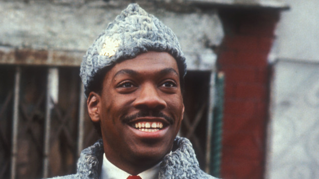 Eddie Murphy in John Landis' comedy Coming to America. (The Kobal Collection)