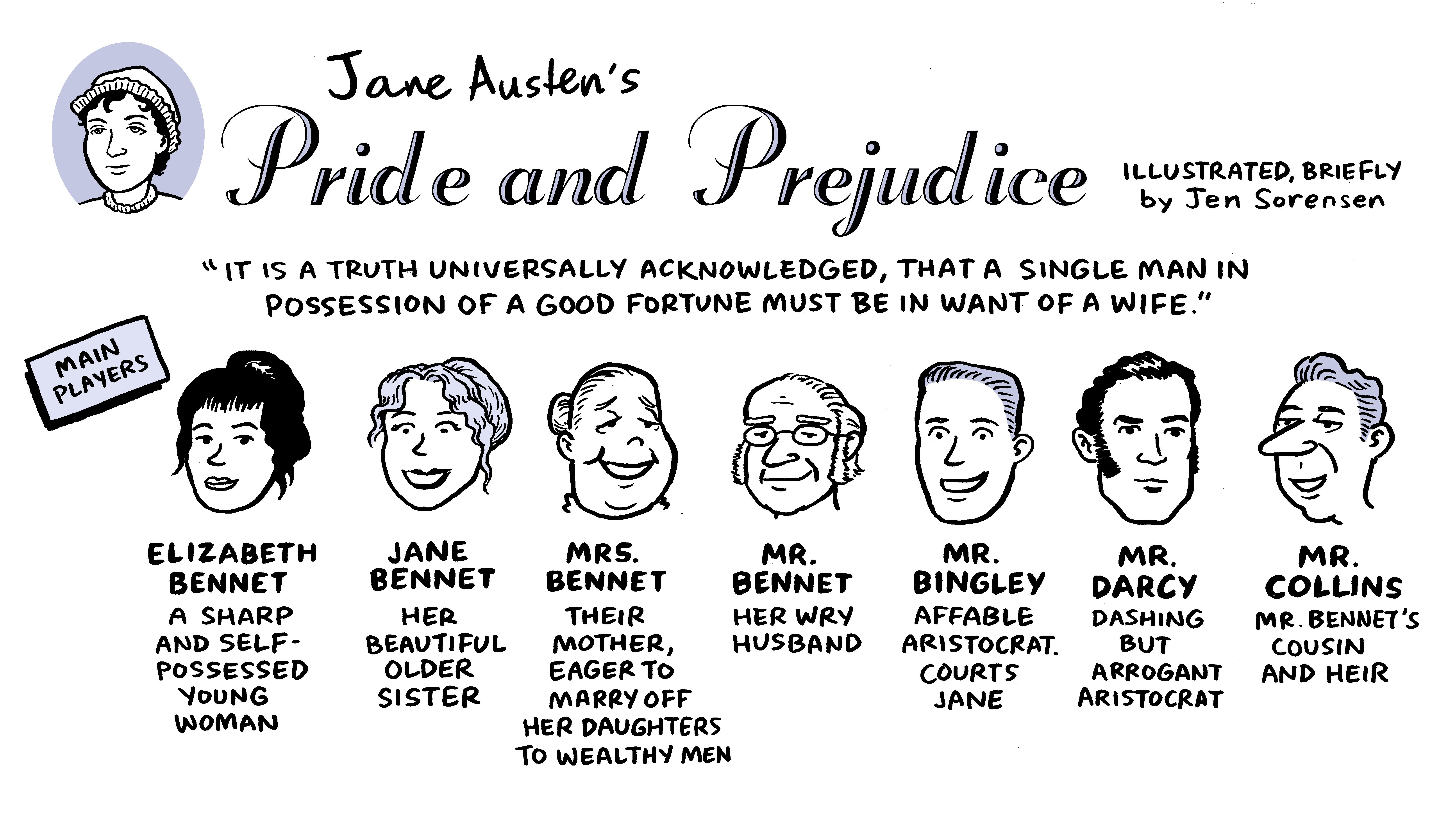 Pride and prejudice turns 200 a cartoon celebration npr