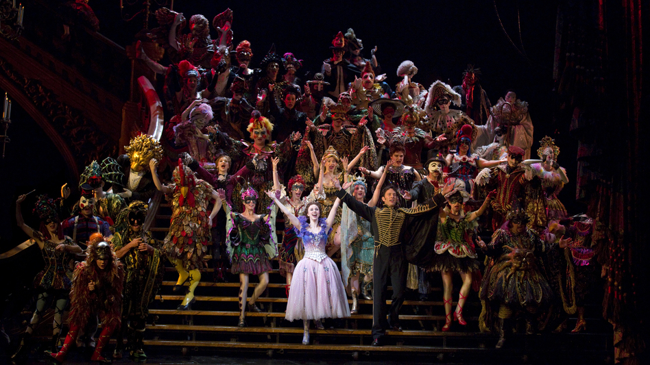 The current cast of The Phantom of the Opera celebrated an unprecedented Broadway milestone Jan. 26, when the show hit its 25th anniversary. (Joan Marcus)