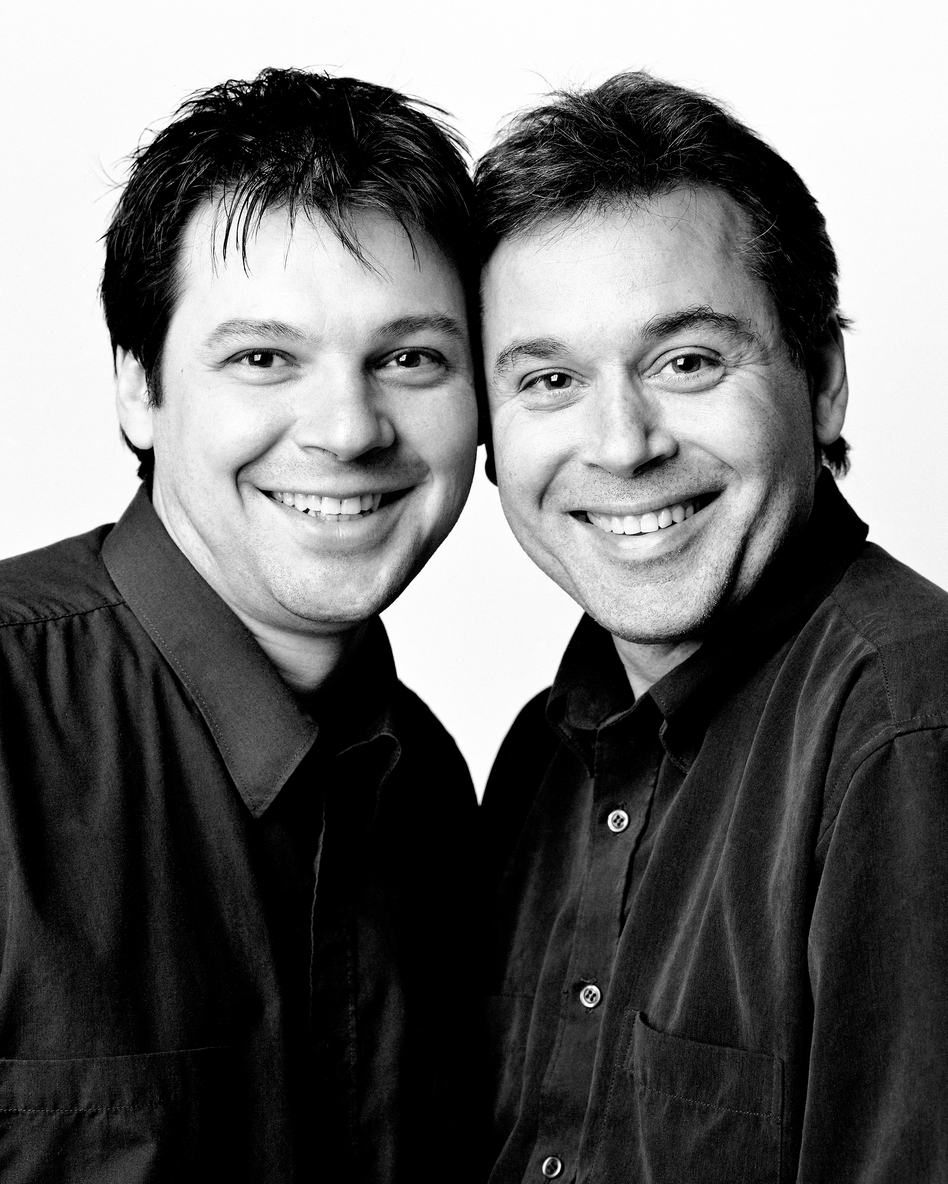 Stephane Morin and Claude-Simon Langlois, Montreal 2004