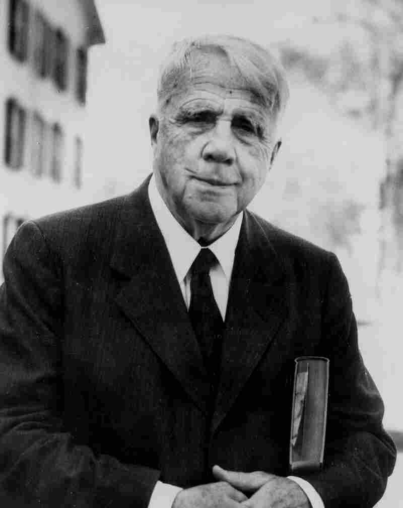 American poet Robert Frost, shown here in 1955, died on Jan. 29, 1963. Now, 50 years after his