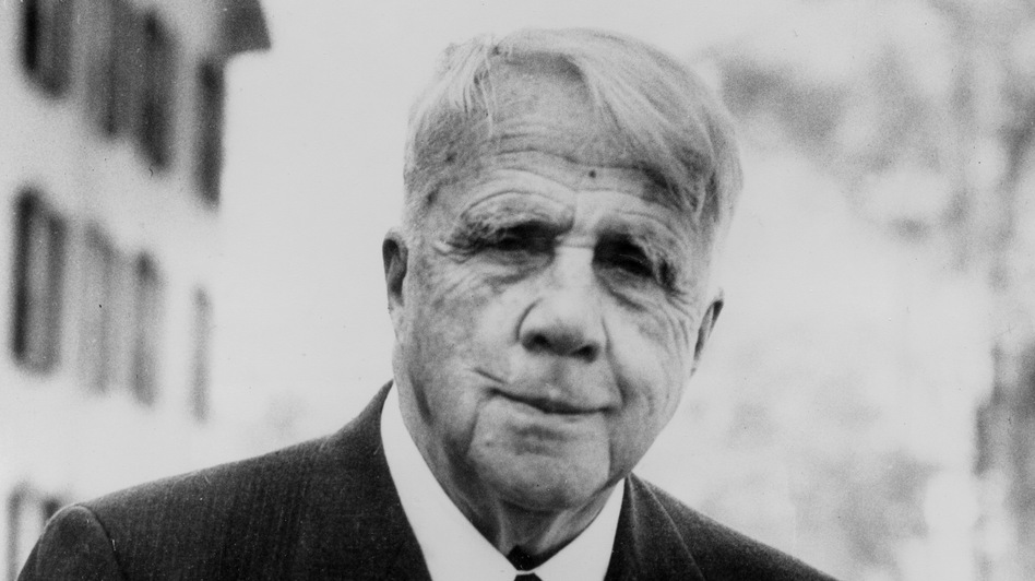 American poet Robert Frost, shown here in 1955, died on Jan. 29, 1963. Now, 50 years after his death, a rare collection of letters, audio and photographs sheds new light on his religious beliefs. (AP)