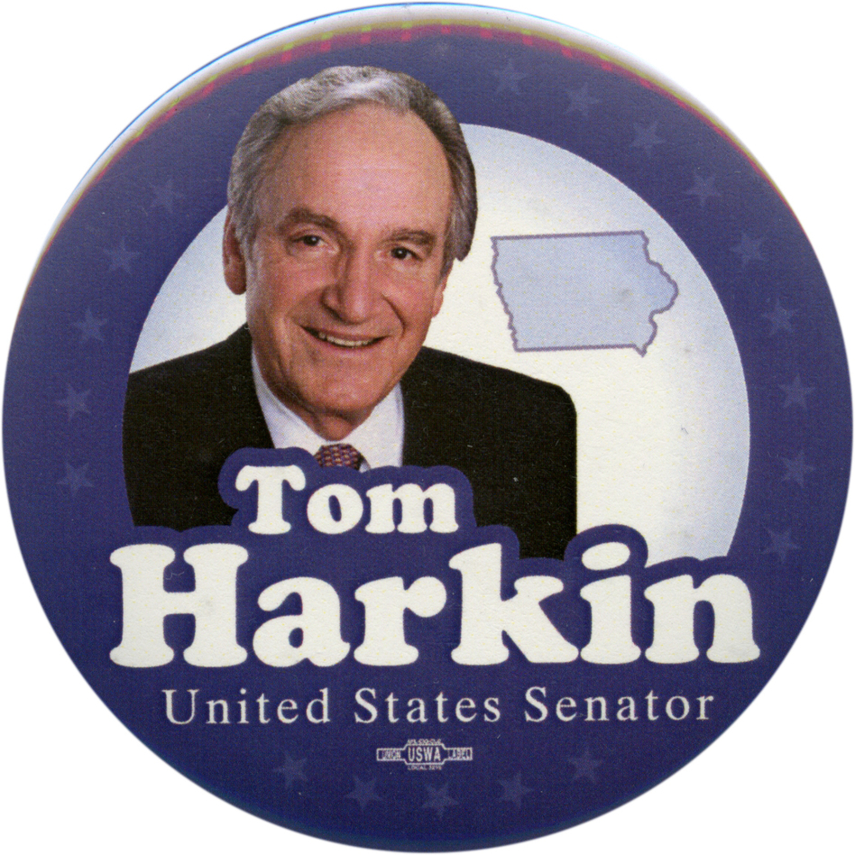 Harkin won't seek a sixth term next year. (Ken Rudin collection)
