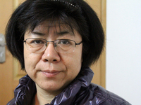 Li Tiantian, a human rights lawyer, is under heavy surveillance by Chinese authorities. She says police tried to get her boyfriend to break up with her by showing him photos of other men she had been involved with.