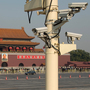 The use of security cameras such as these, looking out over Tiananmen Square in Beijing, is on the rise in China. Critics say the government is using them to discourage dissidents.