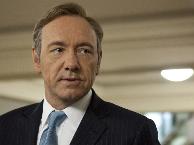 Kevin Spacey is the star and a producer of the new Netflix series <em>House of Cards</em>, on which David Fincher is a co-producer.