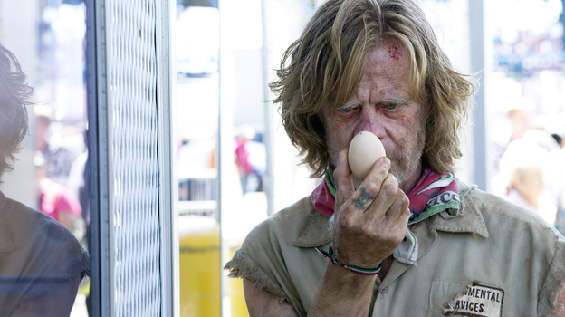 In Shameless, William H. Macy is the dysfunctional father of six. (Cliff Lipson/SHOWTIME)
