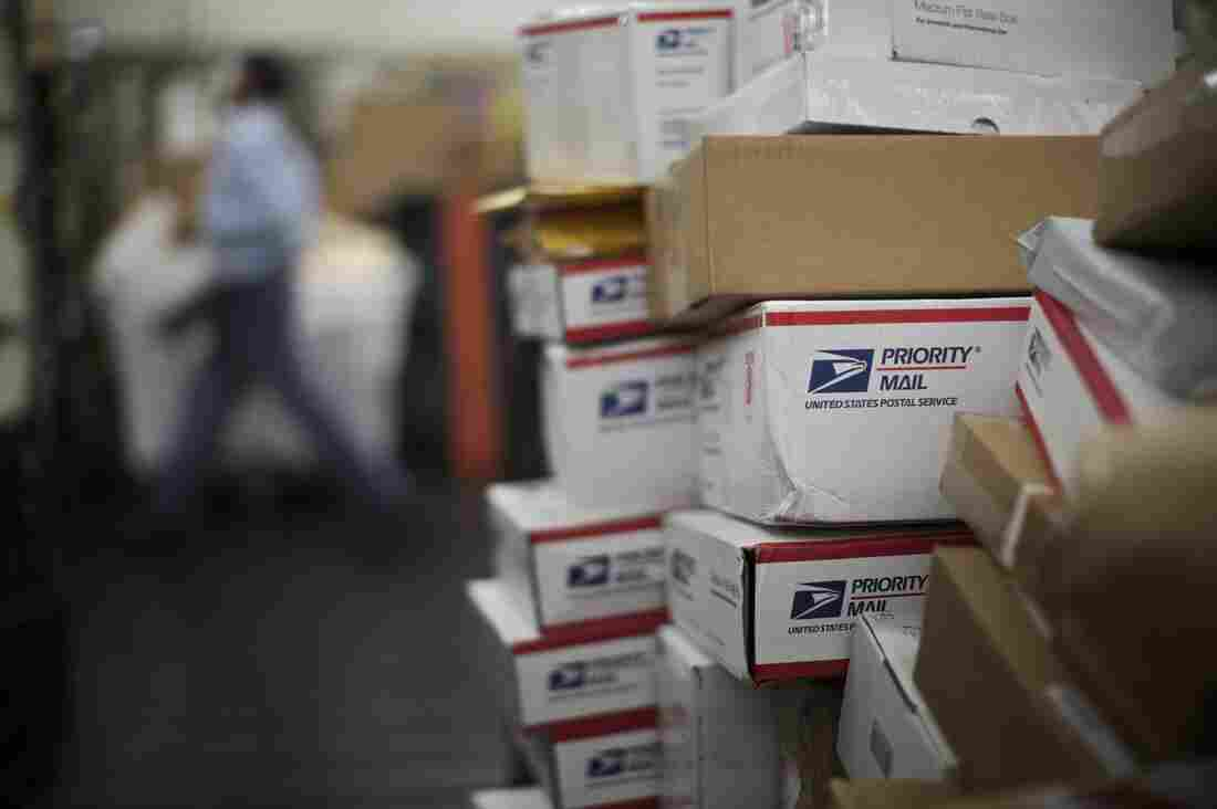 Postal rates for domestic first-class mail went up just a penny this week, but for businesses that ship packages internationally — like small record labels — the rate increases are much larger.