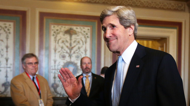 Sen. John Kerry (D-MA) has been confirmed by the senate to become the next secretary of state. (Getty Images)