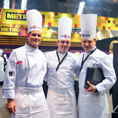 The 2013 American team included assistant chef Corey Siegel, coach Gavin Kaysen and head chef Richard Rosendale.