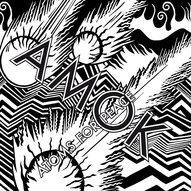Cover art for the Atoms For Peace album, Amok.