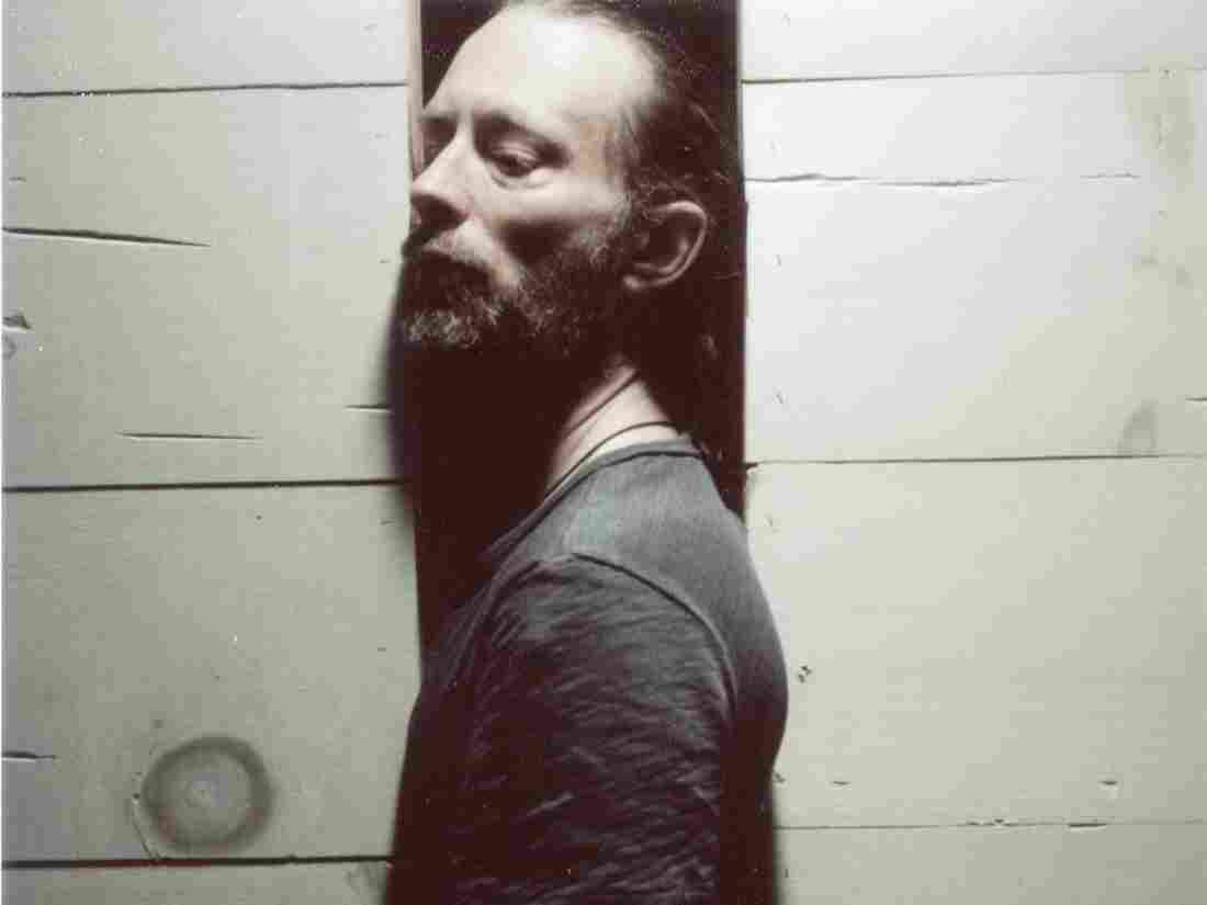 Thom Yorke of Atoms For Peace. Not pictured from the band: Nigel Godrich, Flea, Mauro Refosco and Joey Waronker.