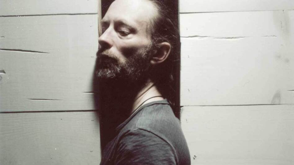 Thom Yorke of Atoms For Peace. Not pictured from the band: Nigel Godrich, Flea, Mauro Refosco and Joey Waronker. (Eliot Lee Hazel)