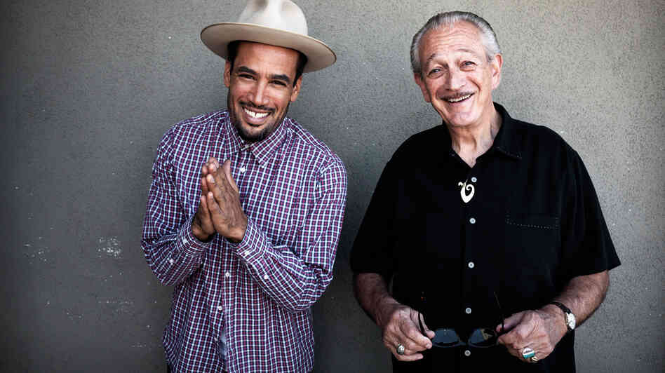 Ben Harper and Charlie Musselwhite's new collaborative album is titled Get Up!